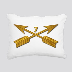 7th SFG Branch wo Txt Rectangular Canvas Pillow