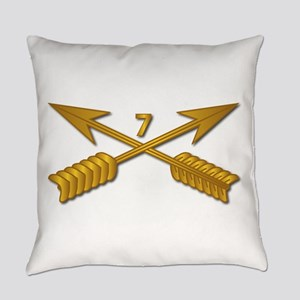 7th SFG Branch wo Txt Everyday Pillow
