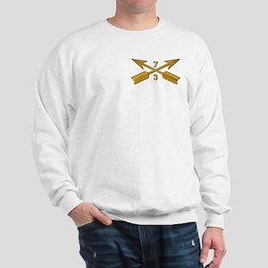 3rd Bn 7th SFG Branch wo Txt Sweatshirt