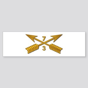3rd Bn 7th SFG Branch wo Txt Sticker (Bumper)