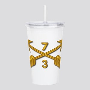 3rd Bn 7th SFG Branch Acrylic Double-wall Tumbler