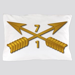 1st Bn 7th SFG Branch wo Txt Pillow Case