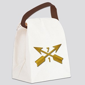 1st Bn 7th SFG Branch wo Txt Canvas Lunch Bag