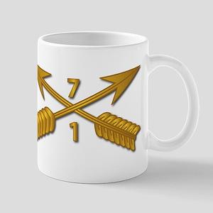 1st Bn 7th SFG Branch wo Txt Mug