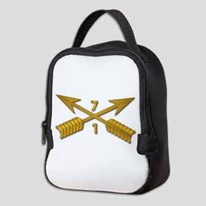 1st Bn 7th SFG Branch wo Txt Neoprene Lunch Bag