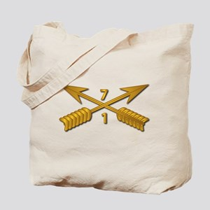 1st Bn 7th SFG Branch wo Txt Tote Bag