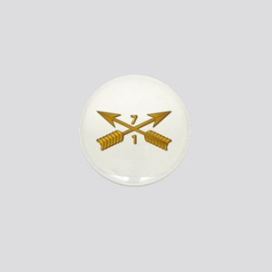 1st Bn 7th SFG Branch wo Txt Mini Button