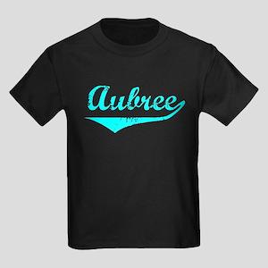 Aubree Vintage (Lt Bl) Kids Dark T-Shirt