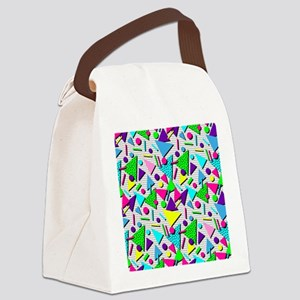totally radical Canvas Lunch Bag