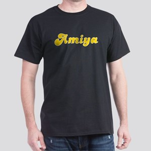 Amiya Fancy (Gold) Dark T-Shirt