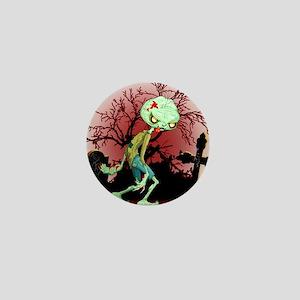 Zombie Creepy Monster Cartoon Mini Button