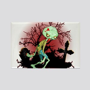 Zombie Creepy Monster Cartoon Magnets