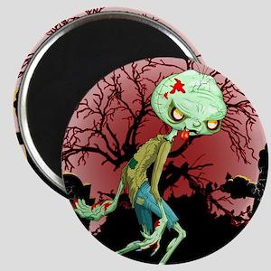 Zombie Creepy Monster Cartoon Magnets