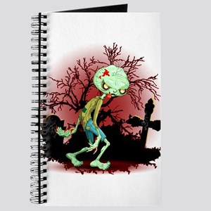 Zombie Creepy Monster Cartoon Journal