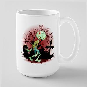 Zombie Creepy Monster Cartoon Mugs