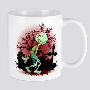 Zombie Creepy Monster Cartoon Mugs