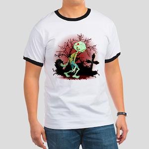 Zombie Creepy Monster Cartoon T-Shirt