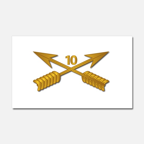 10th SFG Branch wo Txt Car Magnet 20 x 12