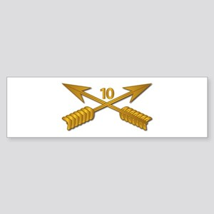 10th SFG Branch wo Txt Sticker (Bumper)