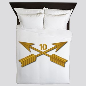 10th SFG Branch wo Txt Queen Duvet