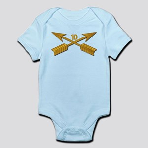 10th SFG Branch wo Txt Infant Bodysuit