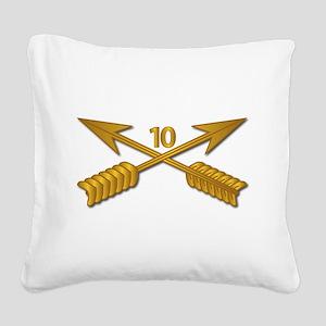 10th SFG Branch wo Txt Square Canvas Pillow