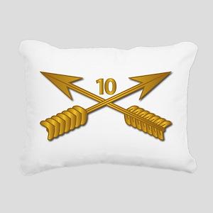 10th SFG Branch wo Txt Rectangular Canvas Pillow