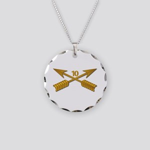 10th SFG Branch wo Txt Necklace Circle Charm