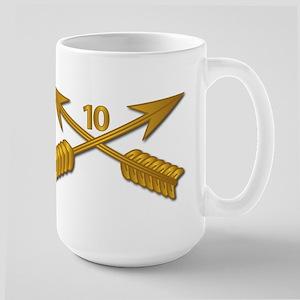 10th SFG Branch wo Txt Large Mug