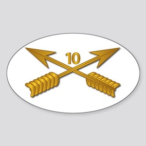 10th SFG Branch wo Txt Sticker (Oval)