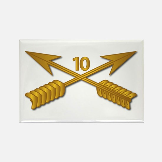 10th SFG Branch wo Txt Rectangle Magnet (10 pack)