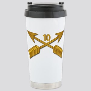 10th SFG Branch wo Txt Stainless Steel Travel Mug