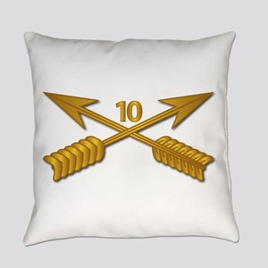 10th SFG Branch wo Txt Everyday Pillow
