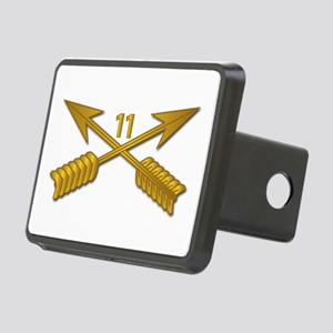 11th SFG Branch wo Txt Rectangular Hitch Cover