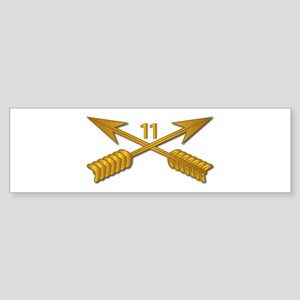 11th SFG Branch wo Txt Sticker (Bumper)
