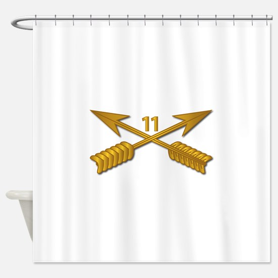 11th SFG Branch wo Txt Shower Curtain