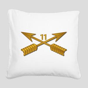 11th SFG Branch wo Txt Square Canvas Pillow