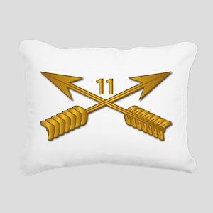 11th SFG Branch wo Txt Rectangular Canvas Pillow