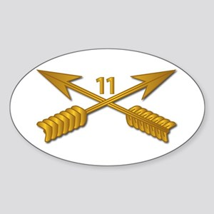 11th SFG Branch wo Txt Sticker (Oval)