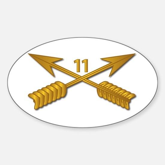 11th SFG Branch wo Txt Sticker (Oval)