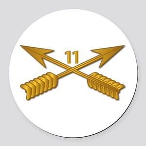 11th SFG Branch wo Txt Round Car Magnet