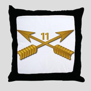 11th SFG Branch wo Txt Throw Pillow