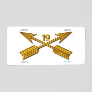 19th SFG Branch wo Txt Aluminum License Plate