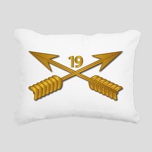 19th SFG Branch wo Txt Rectangular Canvas Pillow