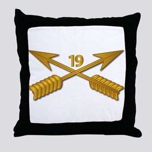 19th SFG Branch wo Txt Throw Pillow