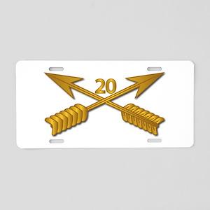 20th SFG Branch wo Txt Aluminum License Plate