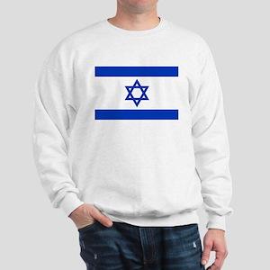 Flag of Israel, the Star of David Sweatshirt