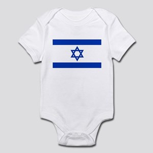 Flag of Israel, the Star of David Body Suit