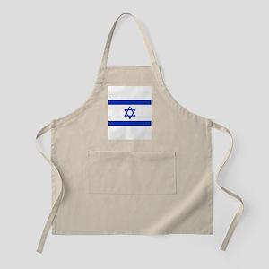 Flag of Israel, the Star of David Apron