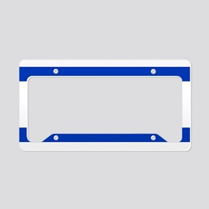 Flag of Israel, the Star of D License Plate Holder